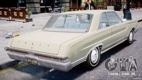 Ford Mercury Comet 1965 para GTA 4 motor