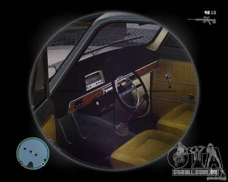 VAZ 2101 1972 Tun para GTA 4 vista direita