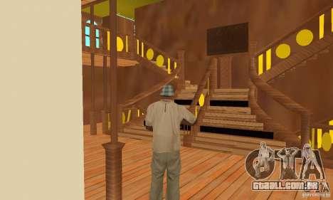 RMS Titanic para as rodas de GTA San Andreas