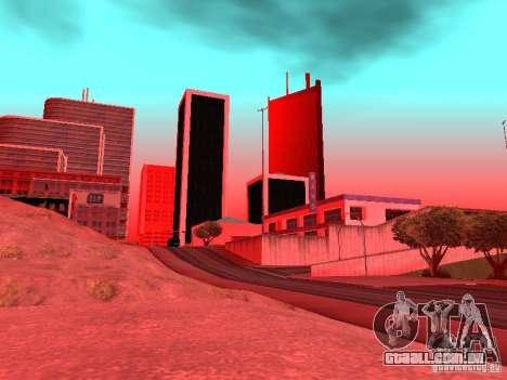 Weather manager para GTA San Andreas décima primeira imagem de tela