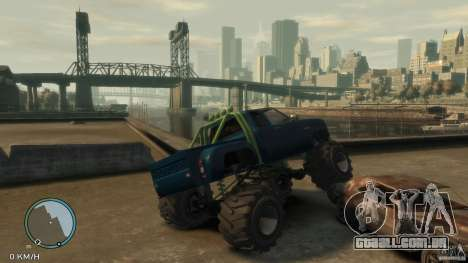Bobcat megatruck 1.0 para GTA 4 vista direita