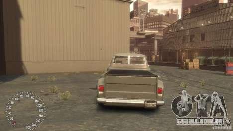 Declasse Hustler para GTA 4 esquerda vista