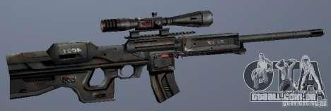 Atirador do irreal para GTA San Andreas