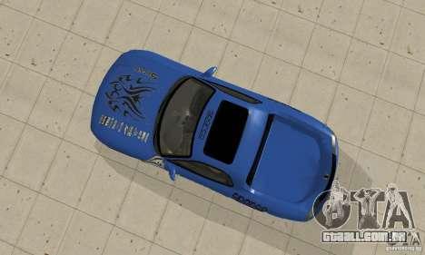 Mazda RX-7 Pickup para GTA San Andreas vista traseira