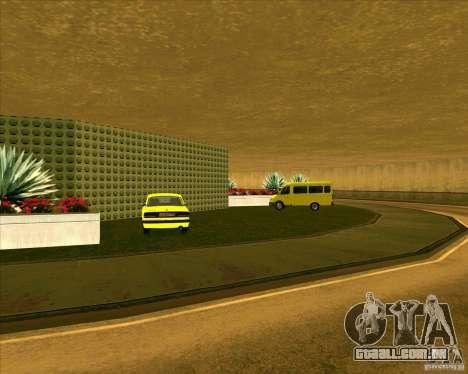 Priparkovanyj transporte v 3,0-de-Final para GTA San Andreas por diante tela