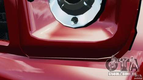 Mercedes-Benz G55 AMG para GTA 4 vista inferior