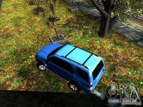 Toyota 4Runner 2009 para GTA San Andreas vista traseira