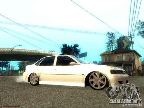 Chevrolet Vectra CD 2.2 16V 2003 para GTA San Andreas vista direita