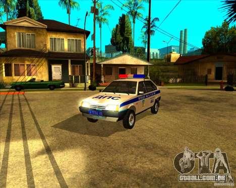 DPS Vaz-2109 para GTA San Andreas
