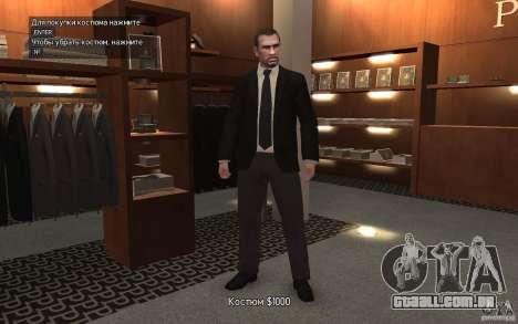 Jaquetas abertas com laços para GTA 4 terceira tela