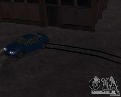 Nissan Skyline GT-R R-33 para GTA San Andreas vista traseira