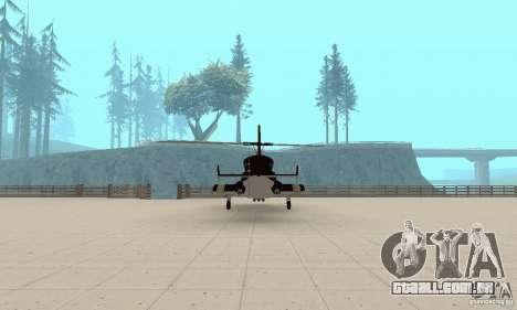 Airwolf para GTA San Andreas