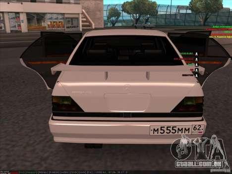 Mercedes-Benz 600SEL AMG 1993 para GTA San Andreas vista direita