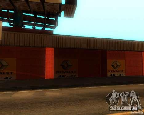 New Garage Painting para GTA San Andreas segunda tela