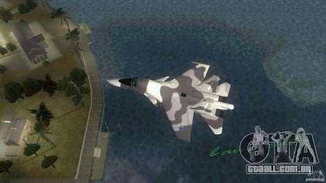 VC Air Force para GTA Vice City deixou vista