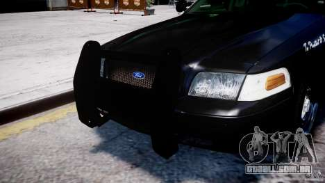 Ford Crown Victoria Massachusetts Police [ELS] para GTA 4