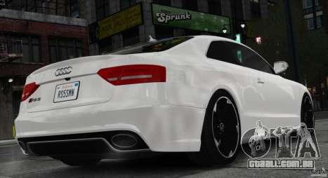Audi RS5 2011 para GTA 4 esquerda vista