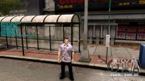 Informações sobre o jogador para GTA 4