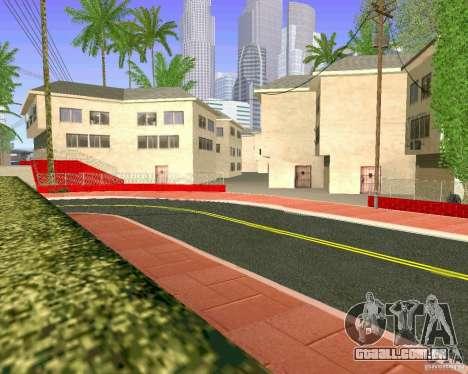 Novas texturas de Los Santos para GTA San Andreas twelth tela