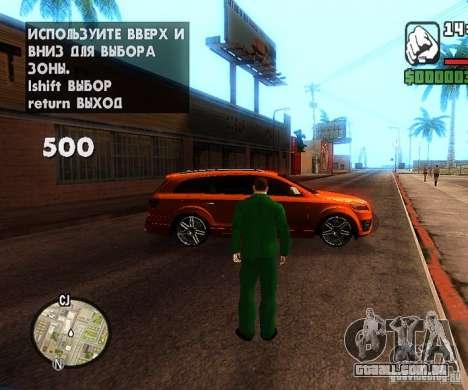 Сar carros de spawn-spawn para GTA San Andreas