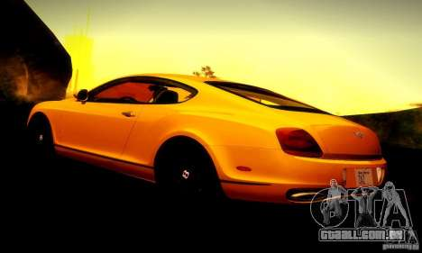 Bentley Continental Supersports para o motor de GTA San Andreas