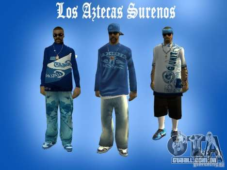 Peles gang de Los Actekas para GTA San Andreas