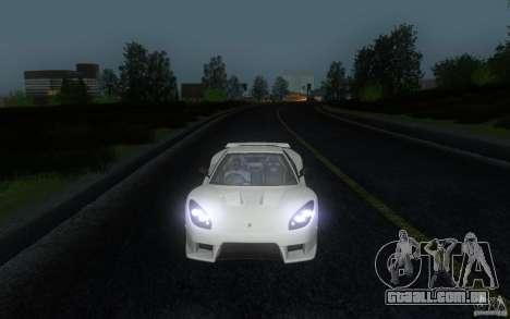 Honda NSX VeilSide Fortune para GTA San Andreas vista traseira