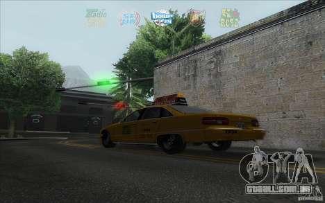 Radio Hud IV para GTA San Andreas terceira tela