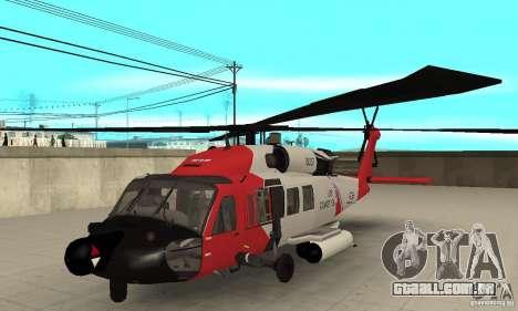 HH-60 Jayhawk USCG para GTA San Andreas