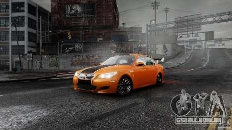 BMW M5 e60 Emre AKIN Edition para GTA 4