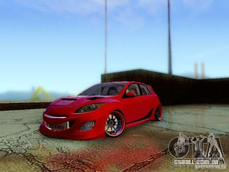 Mazda Speed 3 2010 para GTA San Andreas