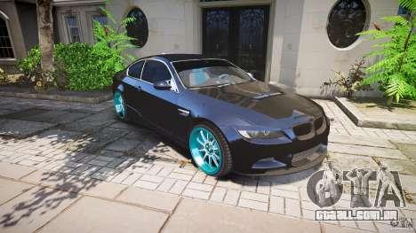 BMW E92 para GTA 4 rodas