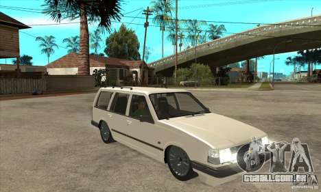 Volvo 945 Wentworth R para GTA San Andreas vista traseira