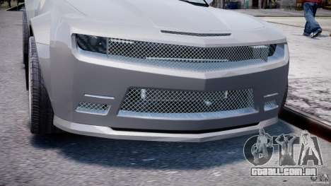 Chevrolet Camaro 2009 para GTA 4 vista lateral