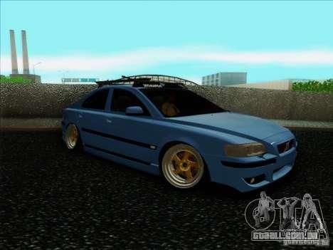 Volvo S60 para GTA San Andreas traseira esquerda vista