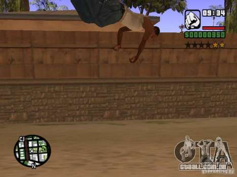 ACRO Style mod by ACID para GTA San Andreas twelth tela