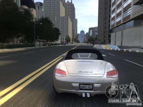 Porsche Boxster S 2010 EPM para GTA 4 vista superior