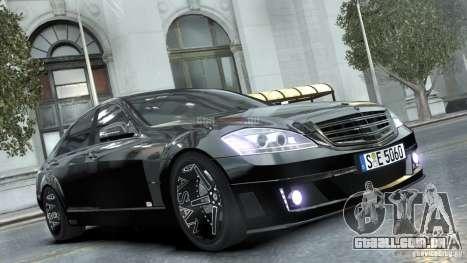 Mercedes-Benz Brabus SV12 R Biturbo 800 2011 para GTA 4