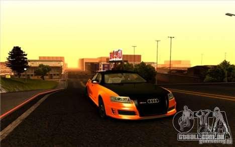 Audi RS6 Black Edition para GTA San Andreas