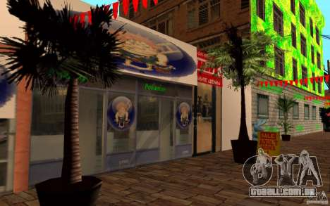 Nova rua da praia para GTA San Andreas terceira tela