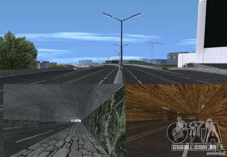 Novas estradas para GTA San Andreas