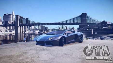 Lamborghini Aventador LP700-4 v1.0 para GTA 4 motor
