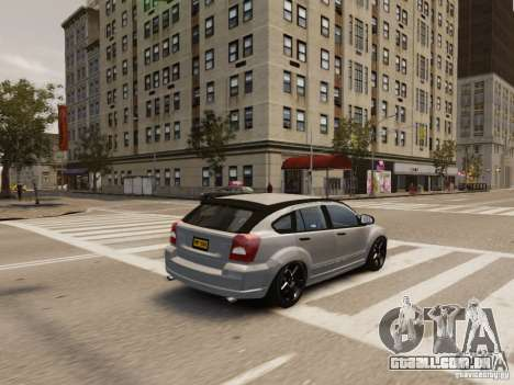 Dodge Caliber para GTA 4 interior
