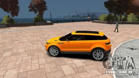 Range Rover LRX 2010 para GTA 4 esquerda vista