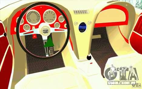 Mamba Speedboat para GTA San Andreas vista direita