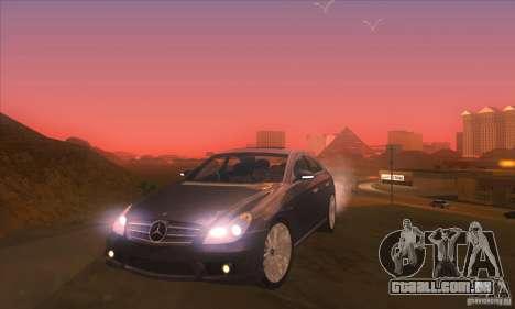 Mercedes-Benz CLS AMG para GTA San Andreas