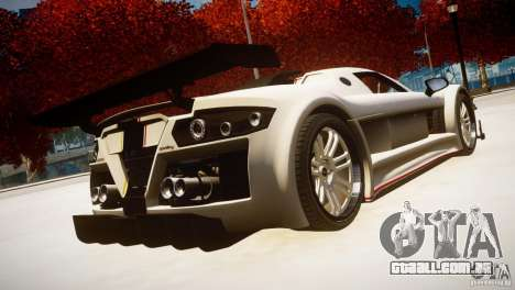 Gumpert Apollo Sport KCS Special Edition v1.1 para GTA 4 esquerda vista