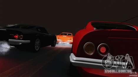 Ferrari 246 Dino GTS para GTA San Andreas vista interior