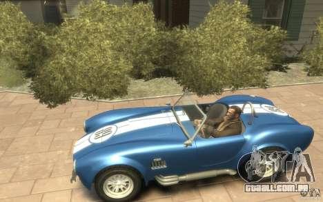Shelby Cobra 427 SC 1965 para GTA 4 esquerda vista