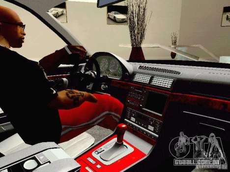 BMW 740i Tuned For Drift para GTA San Andreas vista traseira